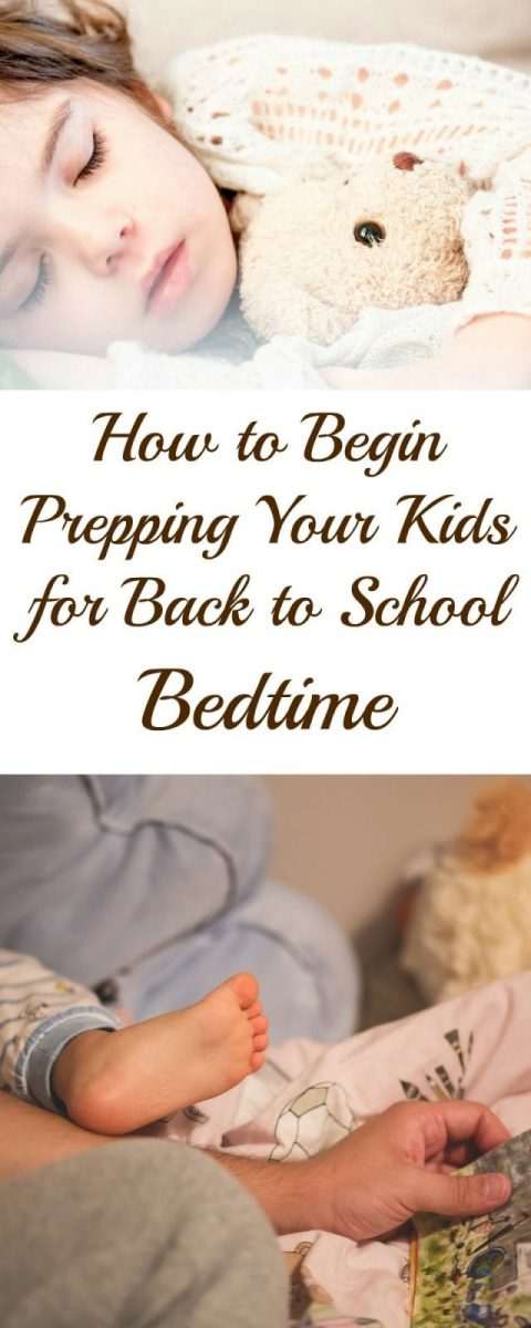 How to Begin Prepping Your Kids for Back to School Bedtime