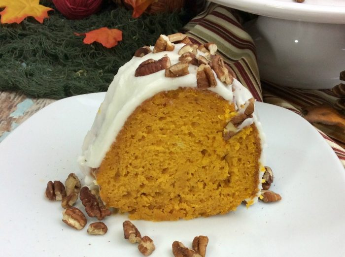 Super Easy Pumpkin Bundt Cake Recipe