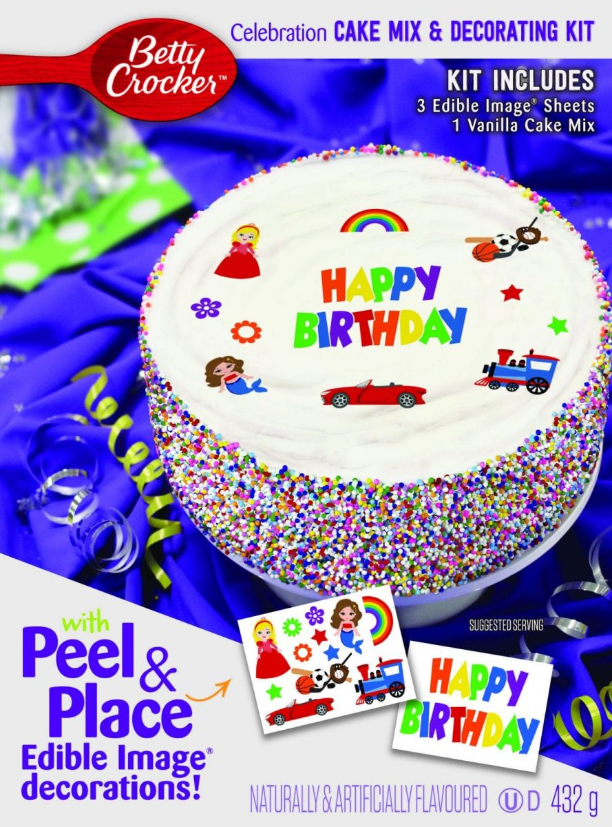 Personalize a Special Day with Betty Crocker!