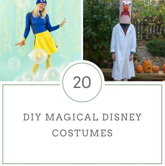 DIY Magical Disney Costumes for Kids and Adults