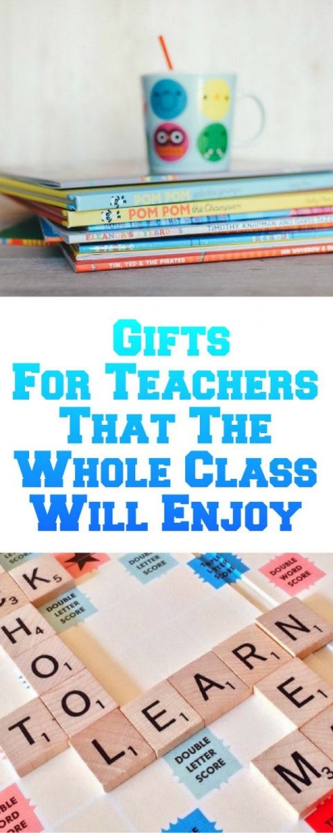 Gifts For Teachers That The Whole Class Will Enjoy