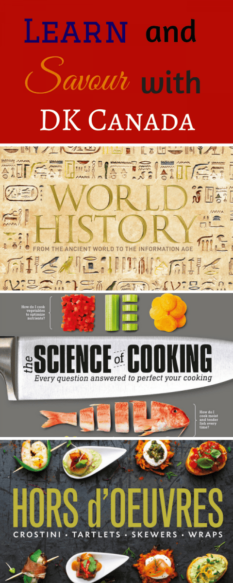 Learn and Savour with DK Canada Books!