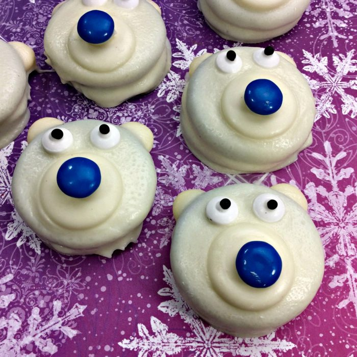 Adorable Polar Bear Cookies Recipe