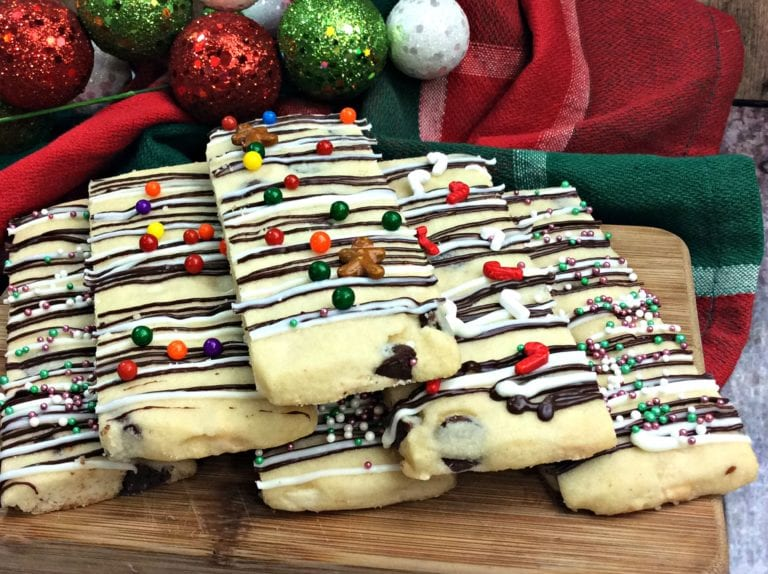 Christmas Cookie Sticks Recipe