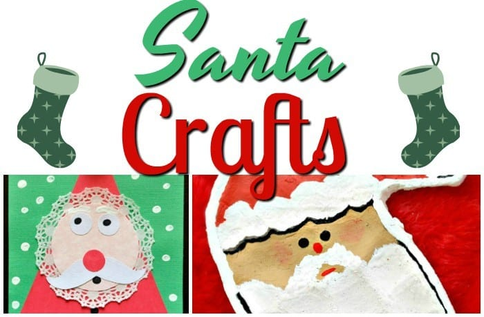 17 Fun Santa Crafts For Kids