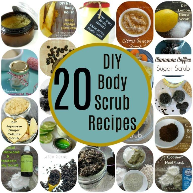 20 DIY Body Scrub Recipes