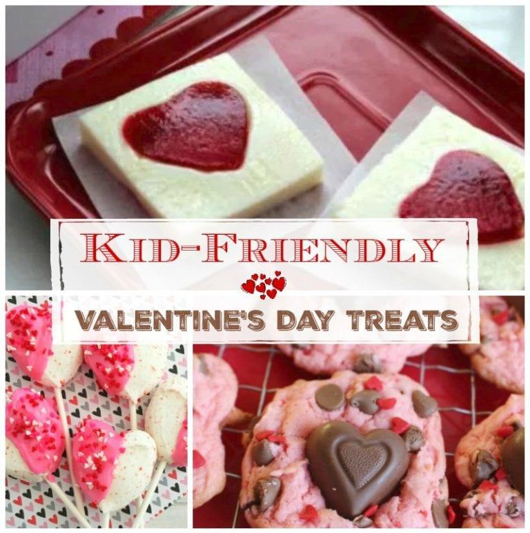 Kid Friendly Valentine's Day Treats