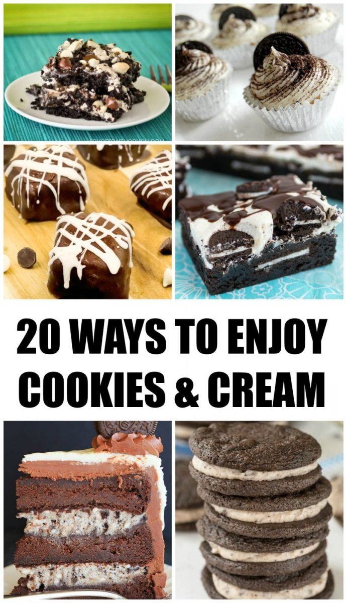 20 Ways to Enjoy Cookies and Cream