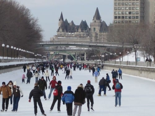 Family Fun Times at Winterlude