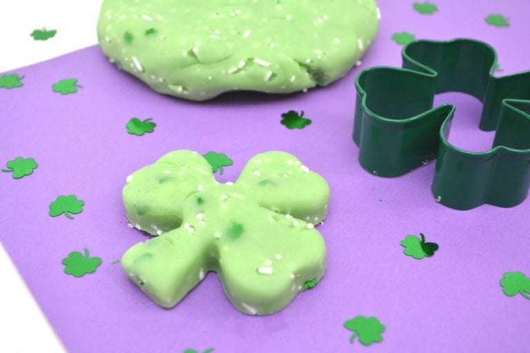 Edible Jello Playdough Recipe For St. Patrick's Day