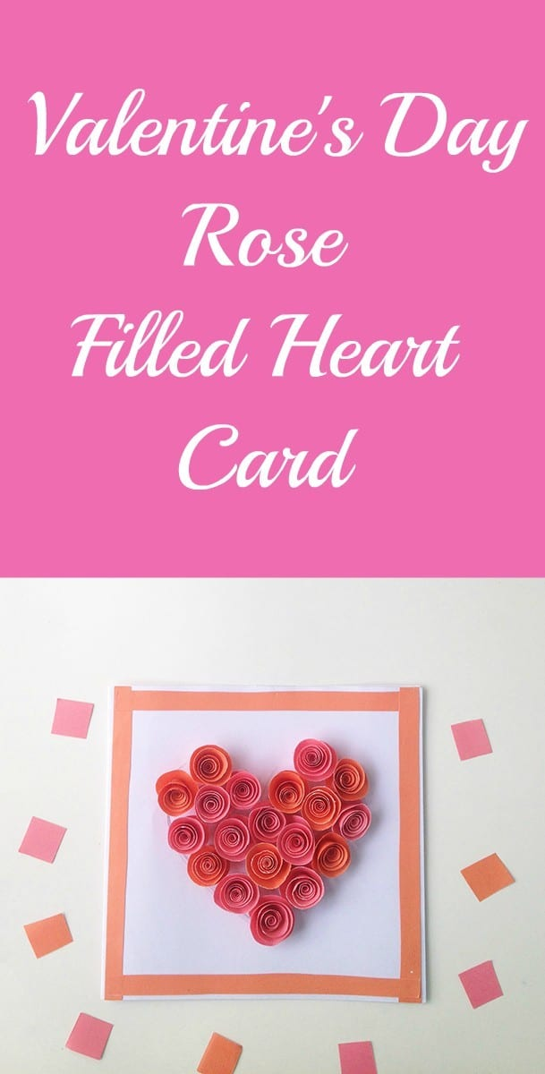 Rose Filled Heart Card