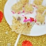 Valentine's Day Rice Krispie Pops Recipe