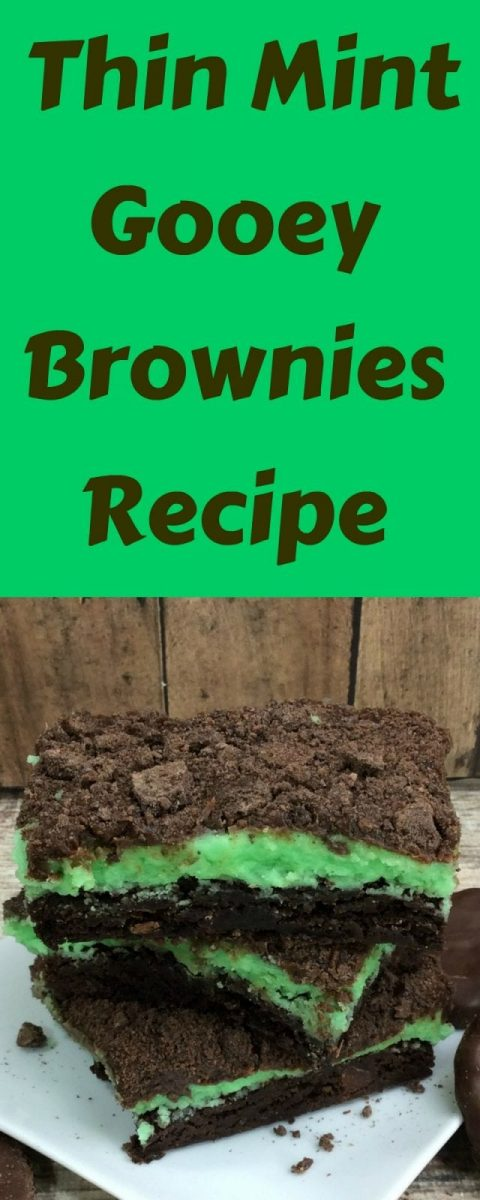 Thin Mint Gooey Brownies Recipe