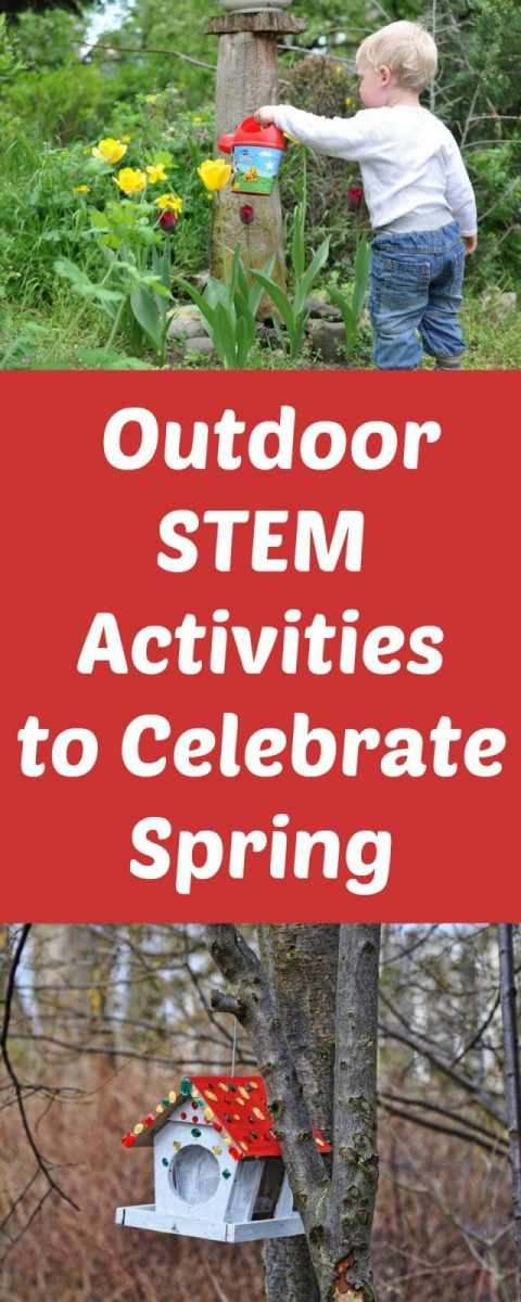 Outdoor STEM Activities to Celebrate Spring