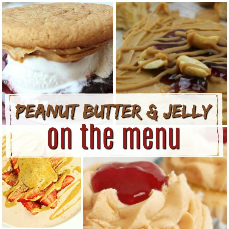 Peanut Butter and Jelly On The Menu