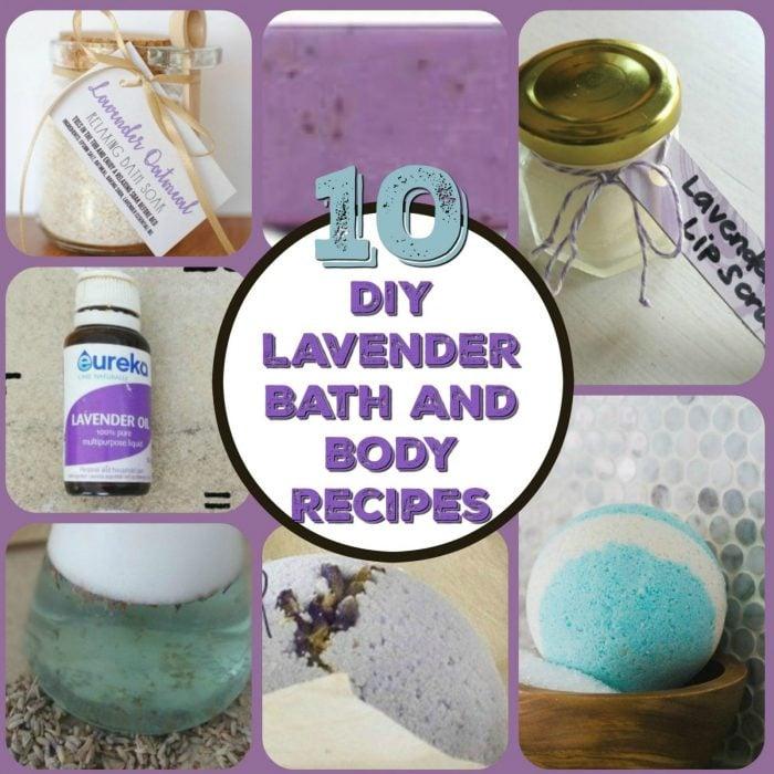 10 DIY Lavender Bath and Body Recipes