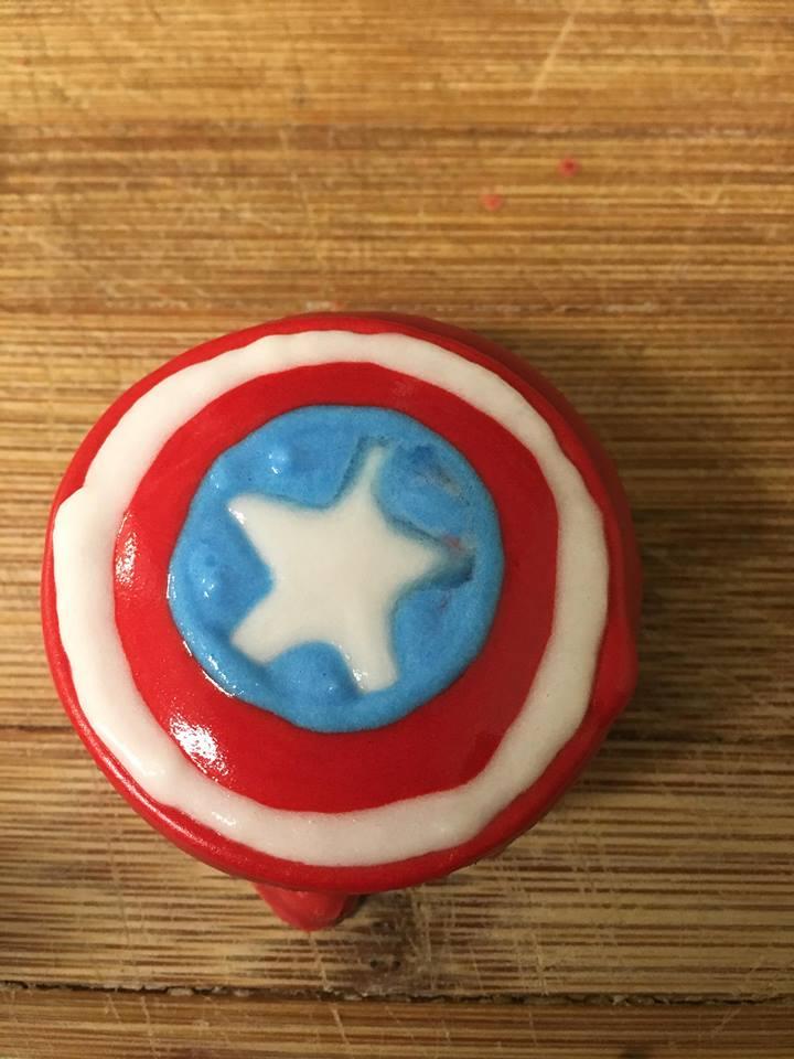 Avengers Captain America Oreo Cookies