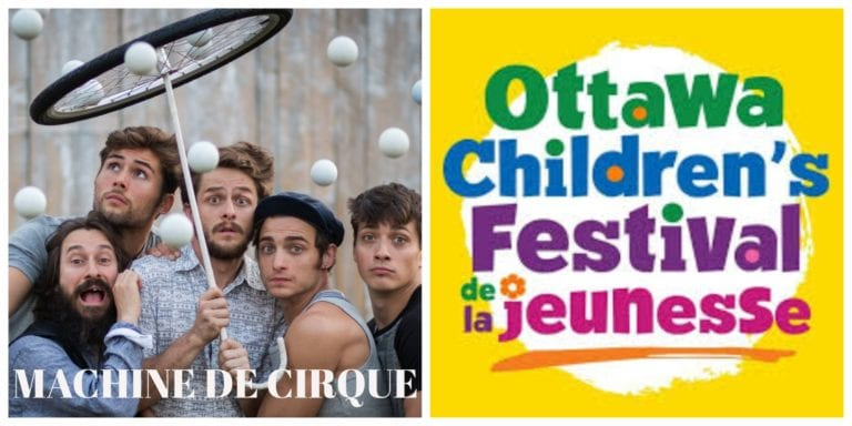 Machine De Cirque – Ottawa Children's Festival REVIEW