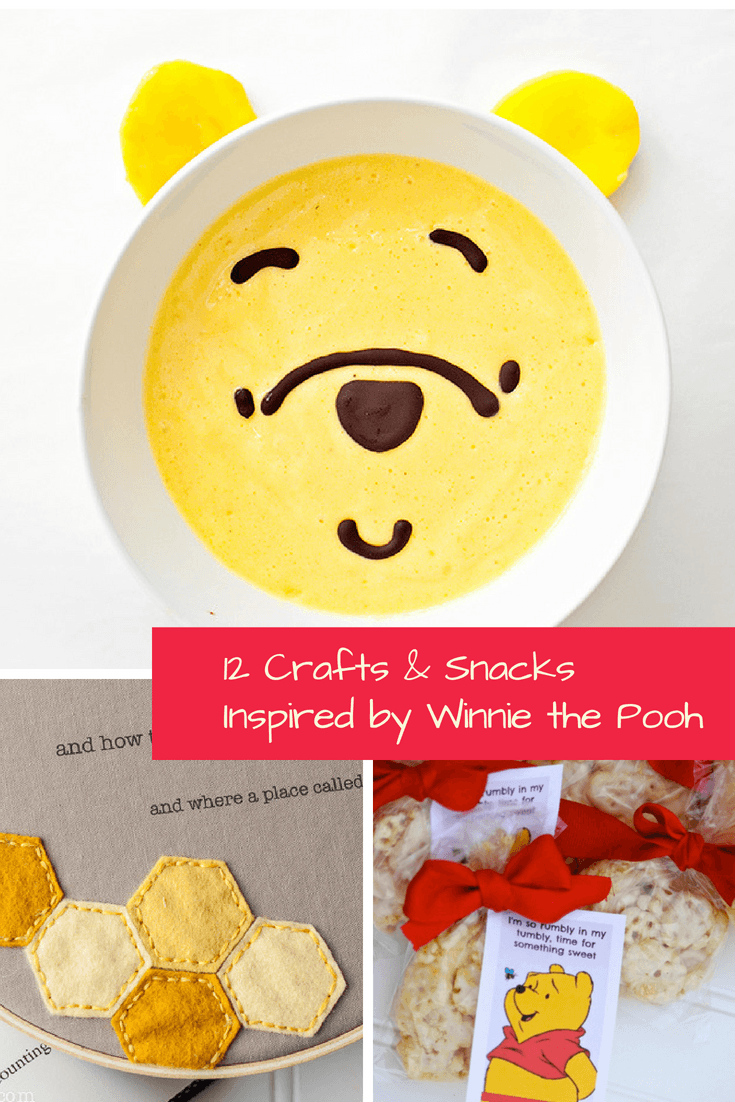Crafts and Snacks Inspired by Winnie the Pooh