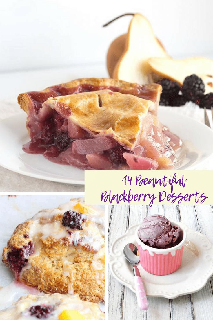 14 Beautiful Blackberry Desserts