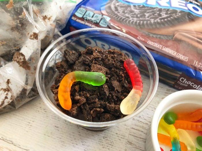 Flower Dirt Sundae Cups Recipe