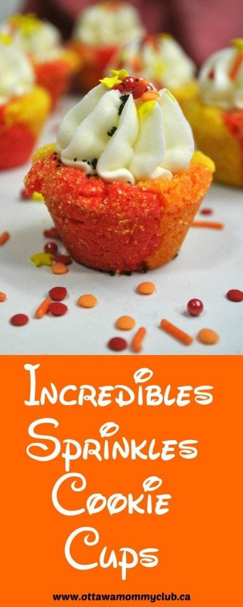 Incredibles Sprinkles Cookie Cups Recipe