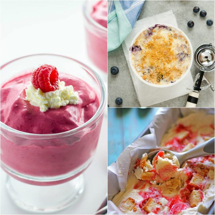 Very Berry Ice Cream Recipes