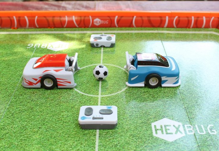 Technology Plus Sport Equals Fun with HEXBUG