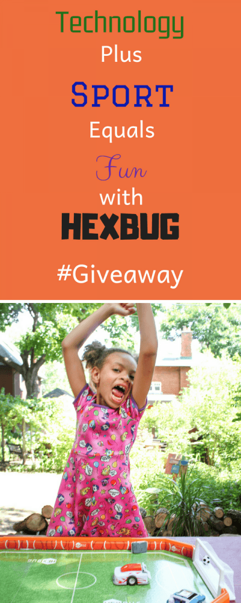 Technology Plus Sport Equals Fun with HEXBUG Toys - Review