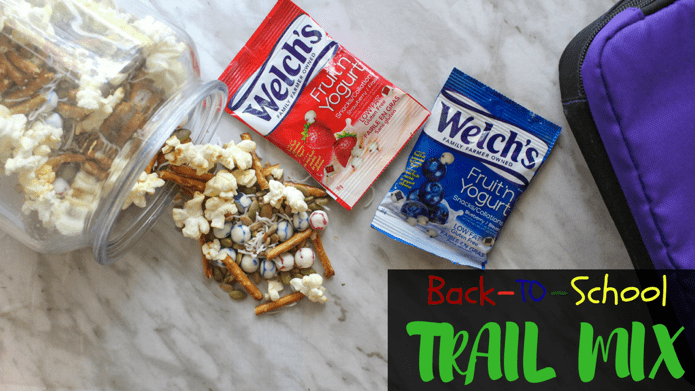 Crunch into Fun with this Back-to-School Trail Mix