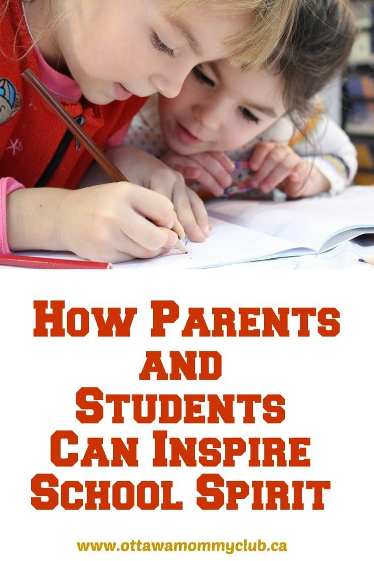 How Parents and Students Can Inspire School Spirit