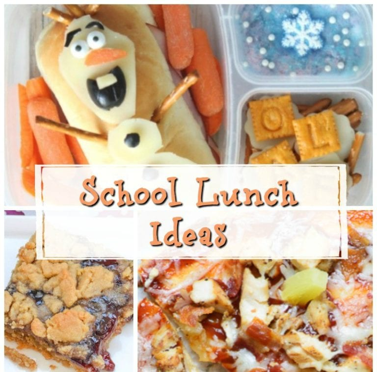 20 School Lunch Ideas
