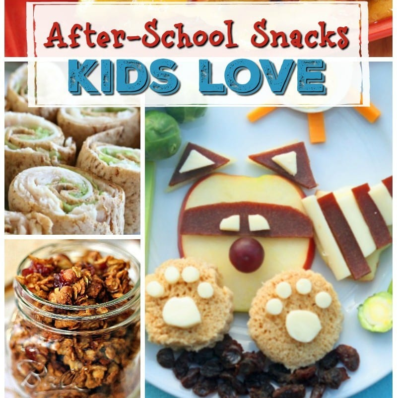 After School Snacks Kids Love