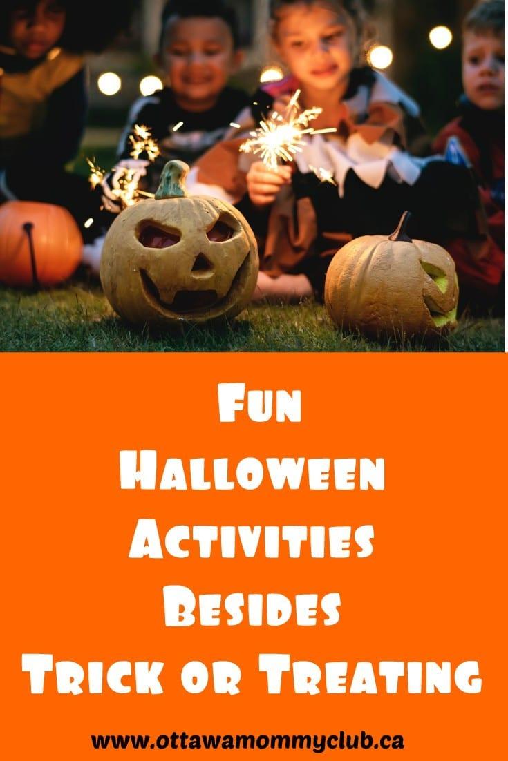 Fun Halloween Activities Besides Trick or Treating