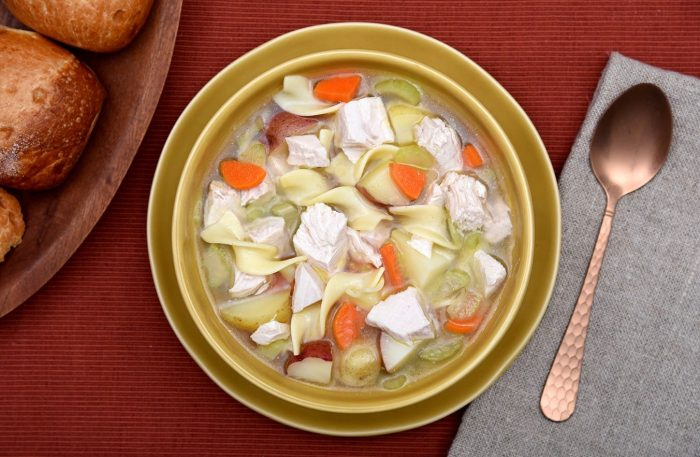 Classic Homemade Turkey Noodle Soup Recipe with Canadian Turkey