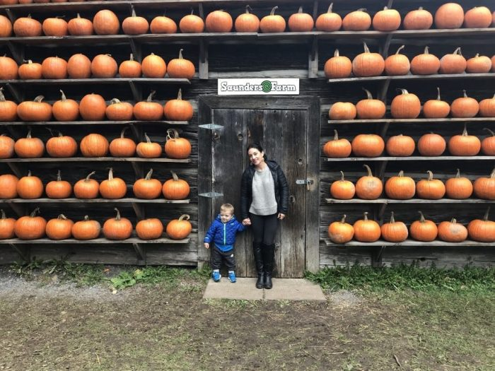 Getting Spooky at Saunders Farm