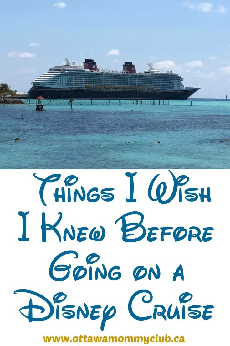 Things I Wish I Knew Before Going on a Disney Cruise