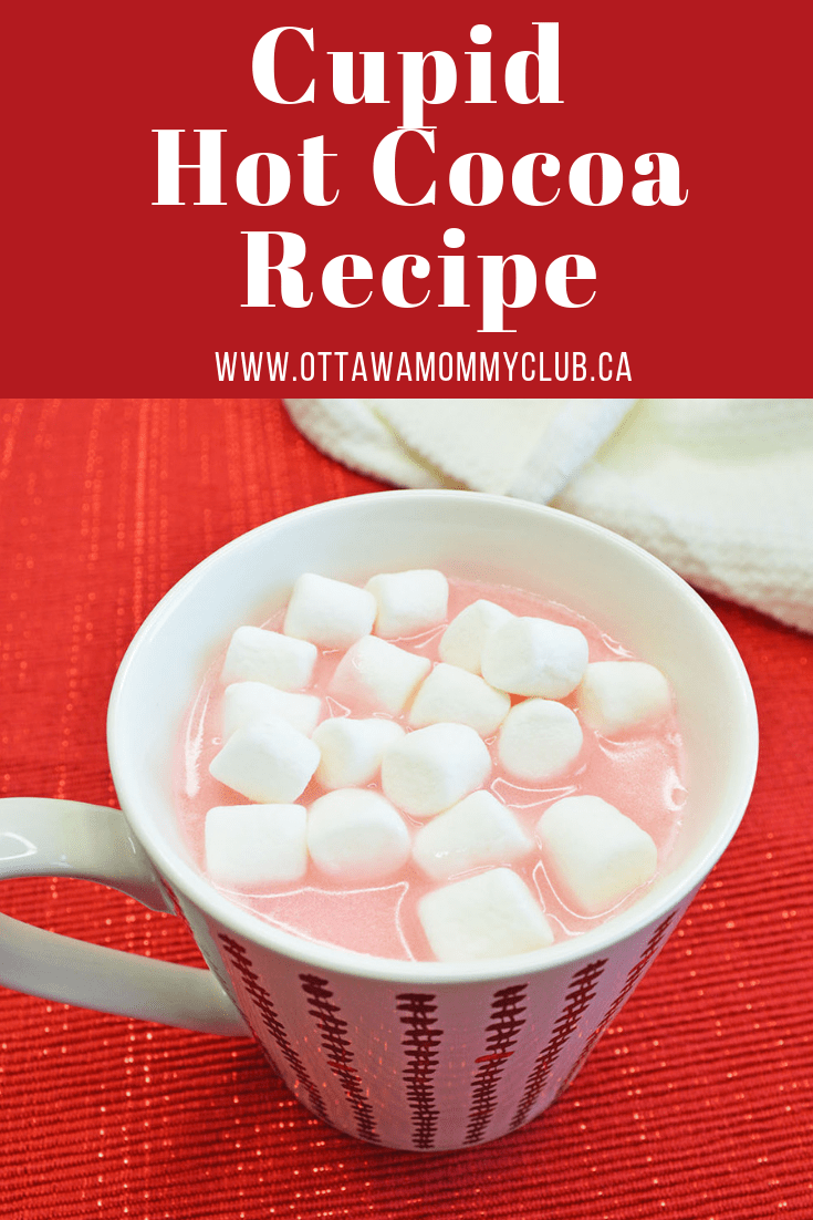Cupid Hot Chocolate Recipe For Valentine's Day