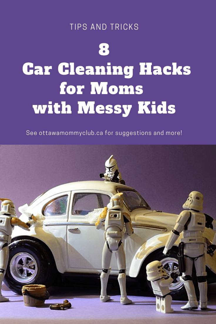 Car Cleaning Hacks for Moms with Messy Kids
