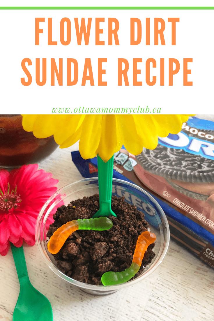 Flower Dirt Sundae Recipe