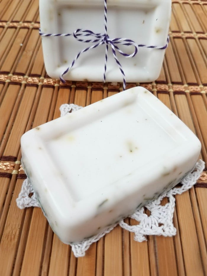 Homemade Lavender Vanilla Soap Recipe