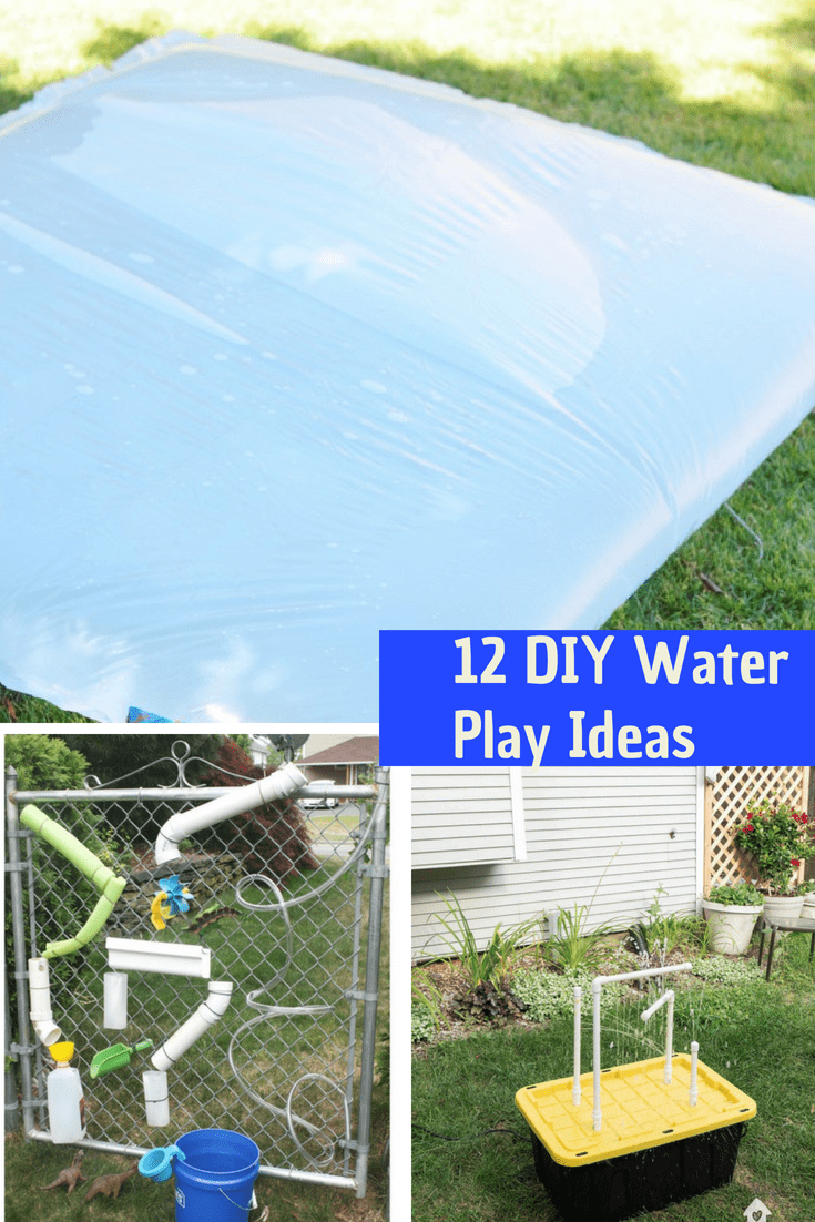 DIY Water Plays Ideas