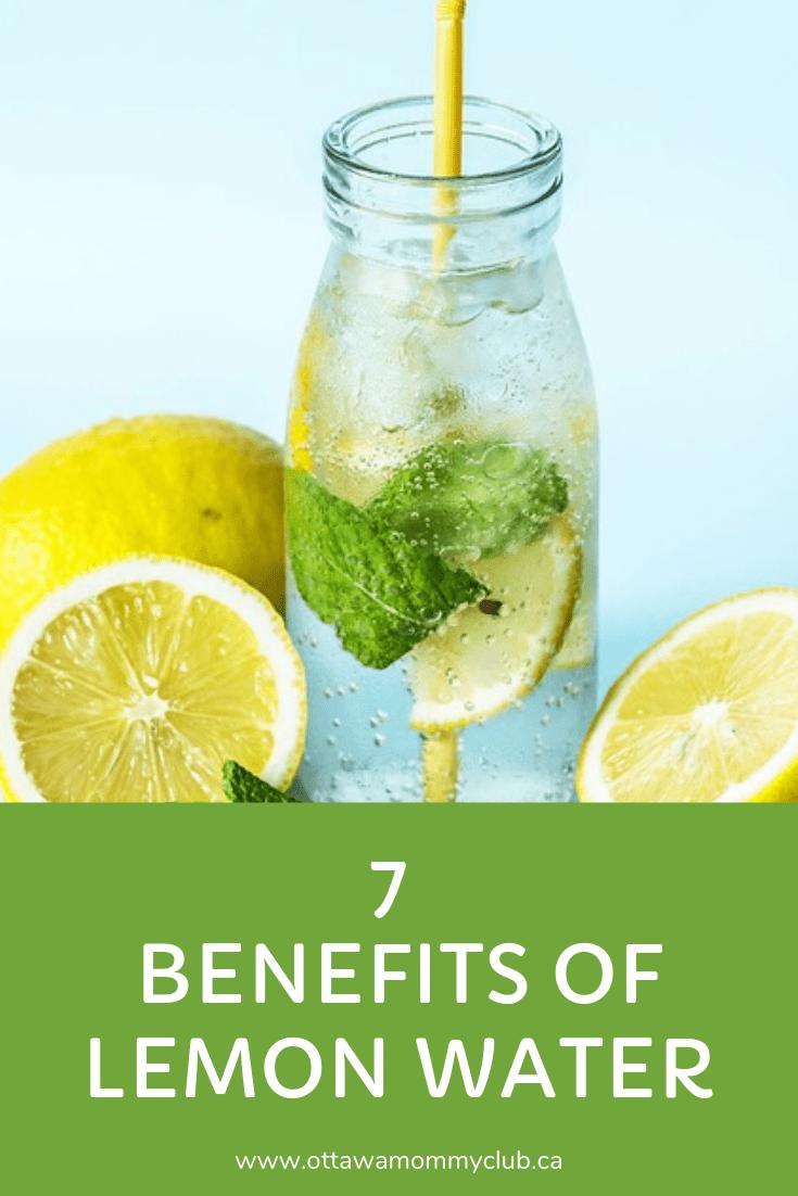 7 Benefits of Lemon Water