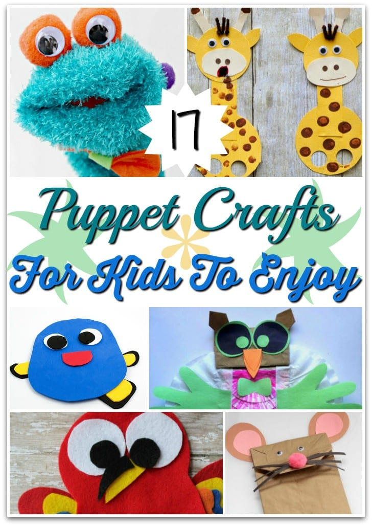 17 Puppet Crafts For Kids To Enjoy