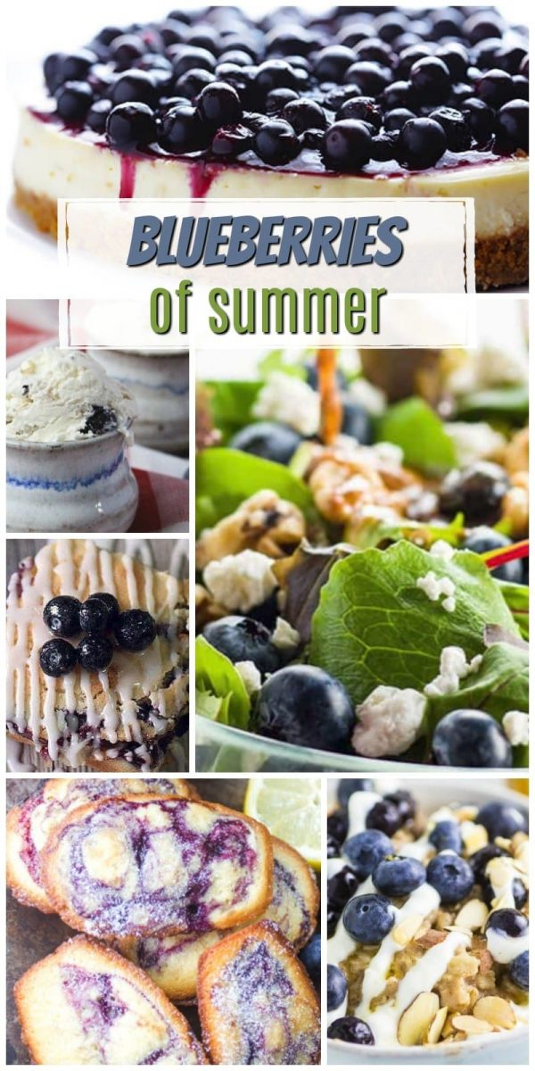 Blueberries of Summer Recipes