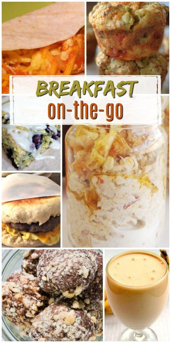 Easy Breakfast On The Go Ideas