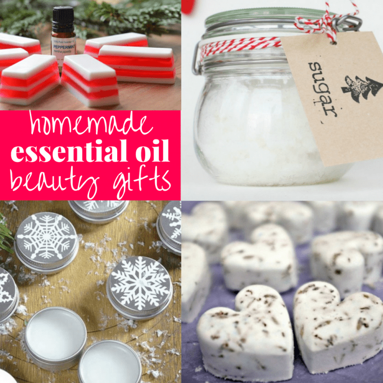 15 Homemade Essential Oil Beauty Gift Ideas