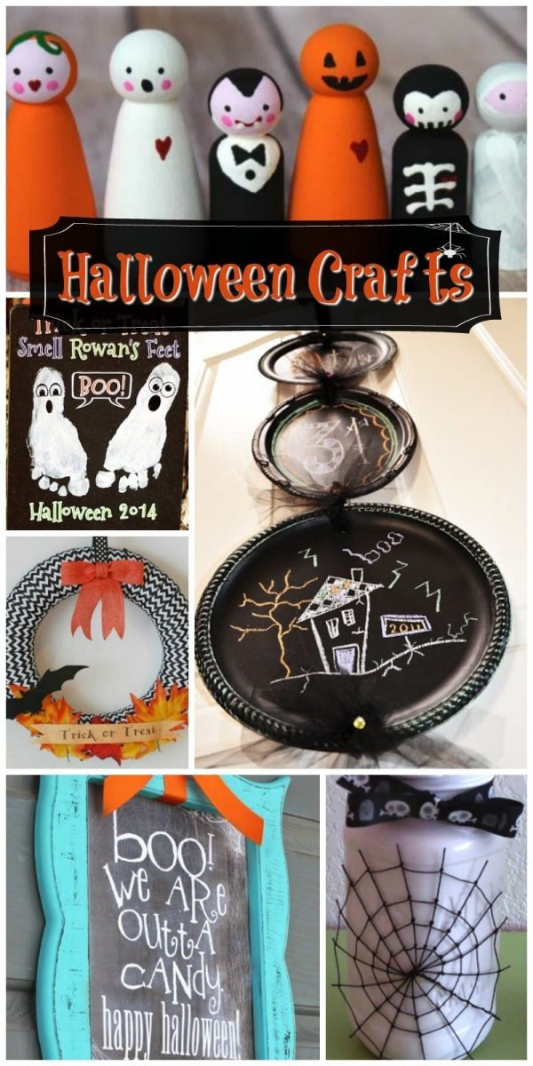 9 Halloween Crafts For Your Home