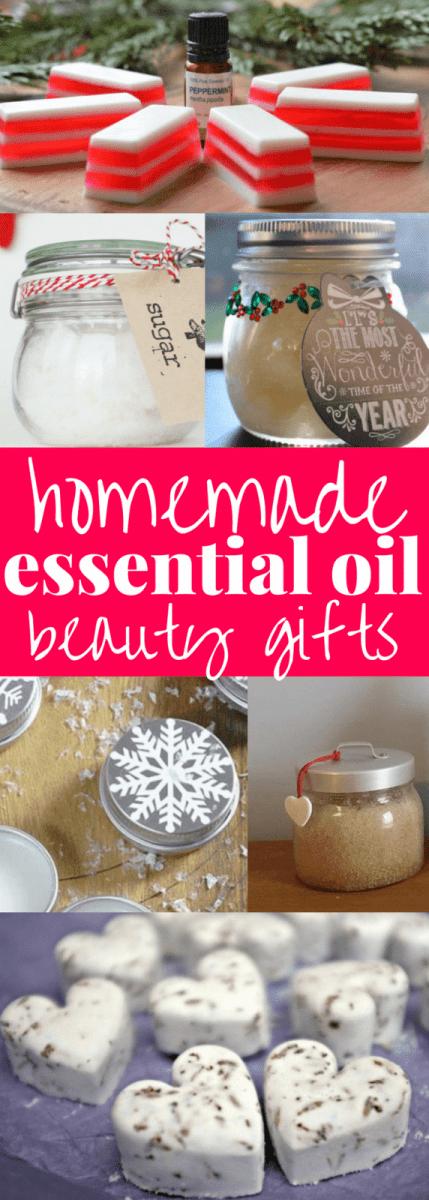 Homemade Essential Oil Gift Ideas