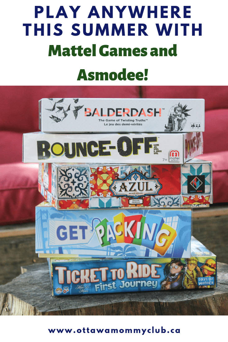 Play Anywhere this Summer with Mattel Games and Asmodee